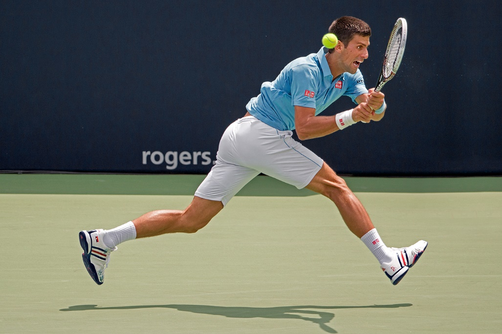 Yung Niem(善蓉)作品《Djokovic at Rogers Cup》,人文纪实组金奖
